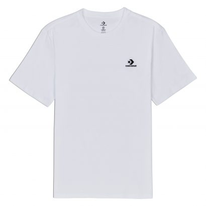 CONVERSE LEFT CHEST SM STAR CHEVRON TEE